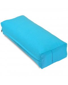 Rectangular Yoga Bolster - Large Blue