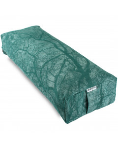 Rectangular Yoga Bolster - Medium Green