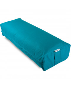 Rectangular Yoga Bolster - Medium Blue
